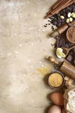 Ingredients For Festive Baking...