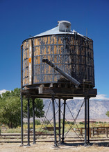 A Historic Wooden Water Tank S...