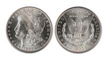 Morgan Silver Dollar.