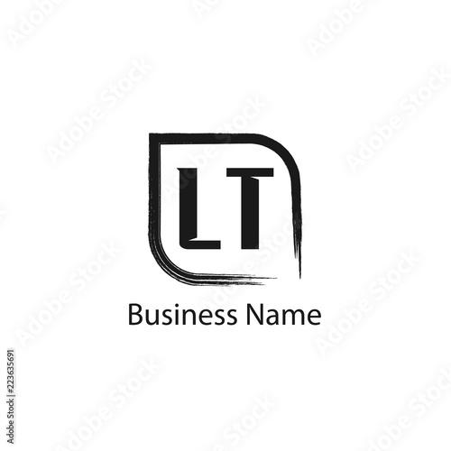 Initial Letter LT Logo Template Design - Buy this stock