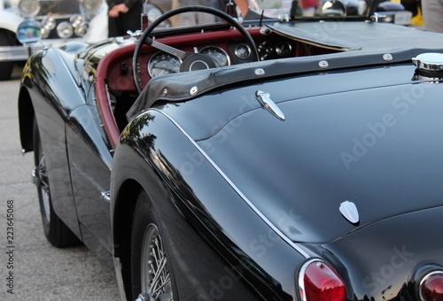 Aluminium Prints Old cars Style