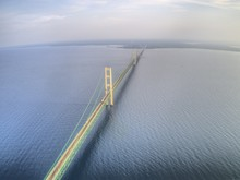 Mackinaw Is A Town In Michigan And The Largest Bridge In The Western Hemisphere