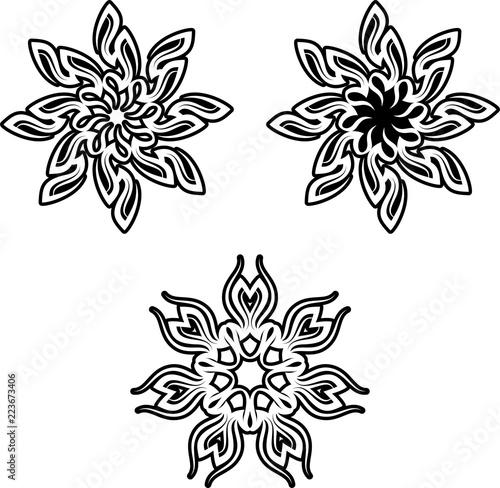 0eb19e39c Tribal Tattoo Sun Design - Buy this stock vector and explore similar ...