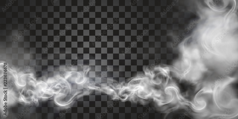 Fototapety, obrazy: Smoke floating in the air