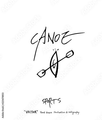 Fotografie, Obraz  스포츠 포스터 / 손으로 그린 스포츠 그림
