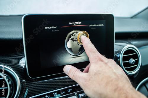 Fotografía  navigation reisen pkw-ziel-system-touch Siri