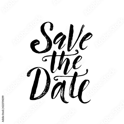 Valokuva  Save the date