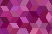 3d Cube Mosaic Vector Backgrou...