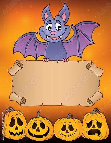 Bat holding parchment image 3