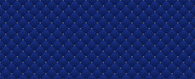 Navy Blue Seamless Pattern In ...
