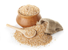 Raw Uncooked Wheat Groats