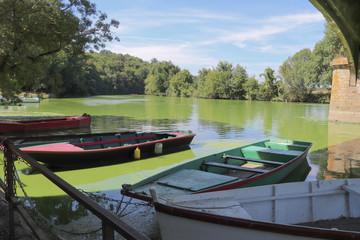 Pays de la Loire - Barques sur la Sèvre Nantaise