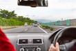 高速道路の景色