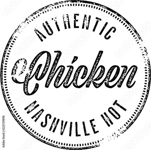 Nashville Hot Style Chicken Sign