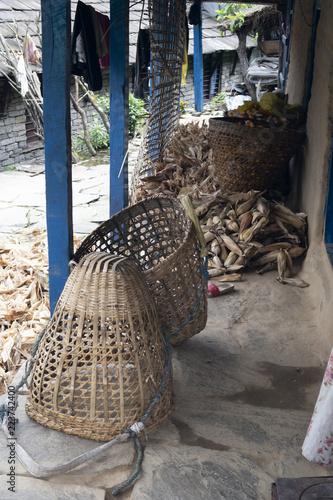 Fotografie, Obraz  corn basket
