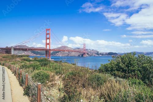 Fotografía  San Francisco Golden Gate Bridge, USA