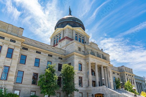 Leinwand Poster  Montana State Capital Building