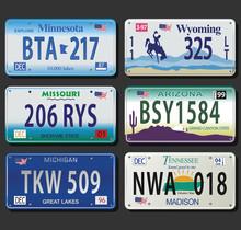 United States License Plates V...