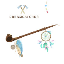 Pipe Of Peace With Dreamcatche...