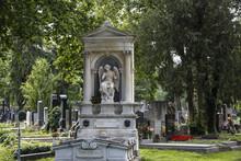 Zentralfriedhof, Vienna Central Cemetery, Vienna, Austria.