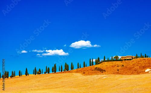 Paysages de Toscane, Italie