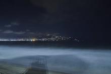 Night Beach In Acapulco