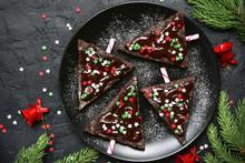 Chocolate Christmas Tree.Top V...