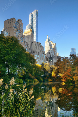 Tableau sur Toile Central Park Autumn