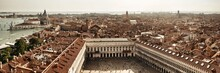 Piazza San Marco Bell Tower Panorama View