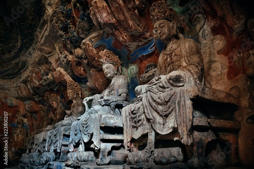 Valokuva  Dazu Rock Carvings