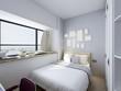 Modern clean bedroom design renderings