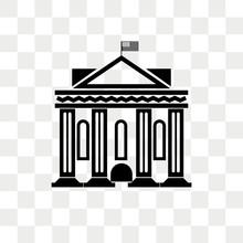 Washington Vector Icon Isolated On Transparent Background, Washington Logo Design
