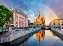 Russia, St. Petersburg - Churc...