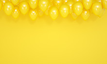 Festive Yellow Background With...