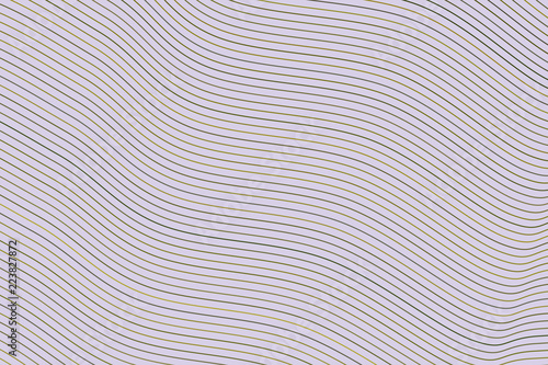 Color abstract line, curve & wave geometric pattern