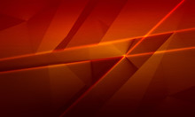 Abstract Red And Brown Background, Polygonal Brushed Texture