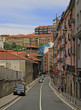 the street in old city of Bilbao