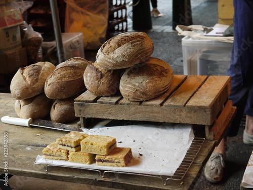 Brot auf dem Bauernmarkt