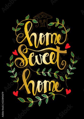 napis-pisma-z-inspirational-frazy-home-sweet-home