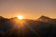 Sunrise in the alps, Hohe Tauern Nationalpark, Austria