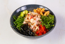 Poke With Crab