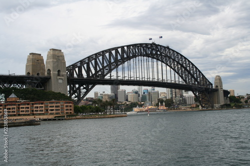 sydney harbour bridge, sightseeing