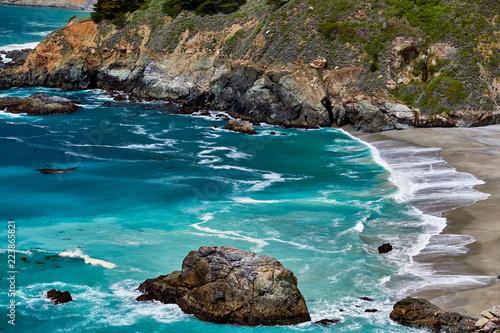 Keuken foto achterwand Verenigde Staten Pacific coast landscape in California