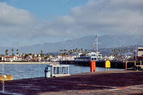 Keuken foto achterwand Verenigde Staten Santa Barbara Stearns Wharf