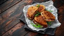 Grilled Sandwich With Turkey, ...