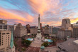 Indianapolis Indiana Circle Day to Night Sunset