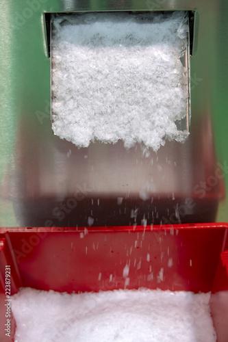 Ice making machine.
