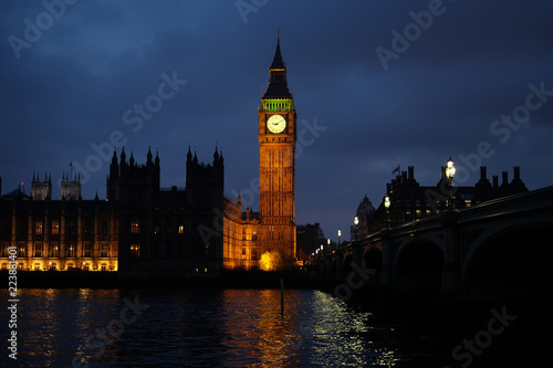Foto op Canvas Londen Big Ben tower in London