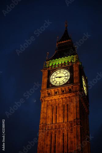 Foto op Canvas Londen Big Ben tower in London
