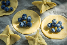 Blueberry Dumplings. Cooking P...